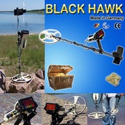 Black Hawk-Pulse Induction Metal Detector